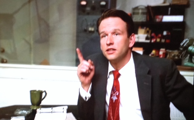 Dallas Roberts as Sam Phillips in Walk the Line
