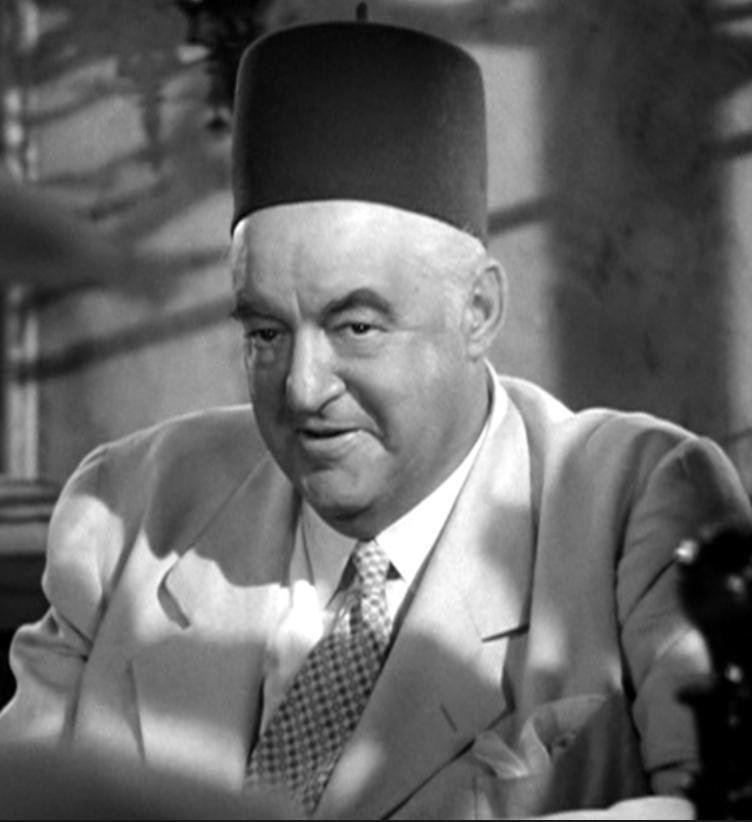 Sydney Greenstreet as Signor Ferrari in  Casablanca