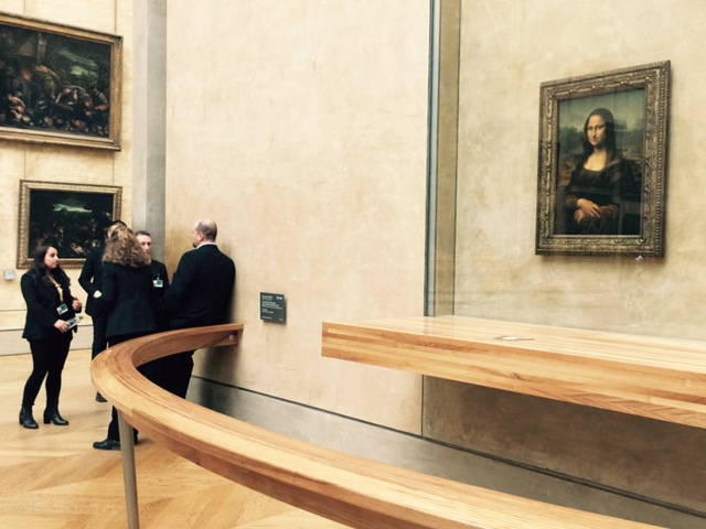 Some people can stand right by the Mona Lisa and not even notice it. Just sayin'.