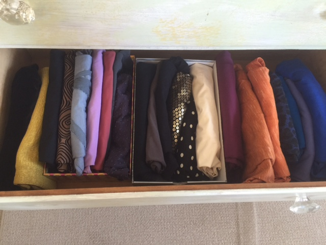 My tops, after KonMari