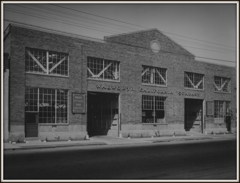 The shop in Oakland before C. E. Toland & Son