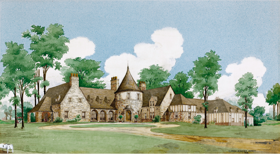 Wendehack's Ridgewood Country Club clubhouse