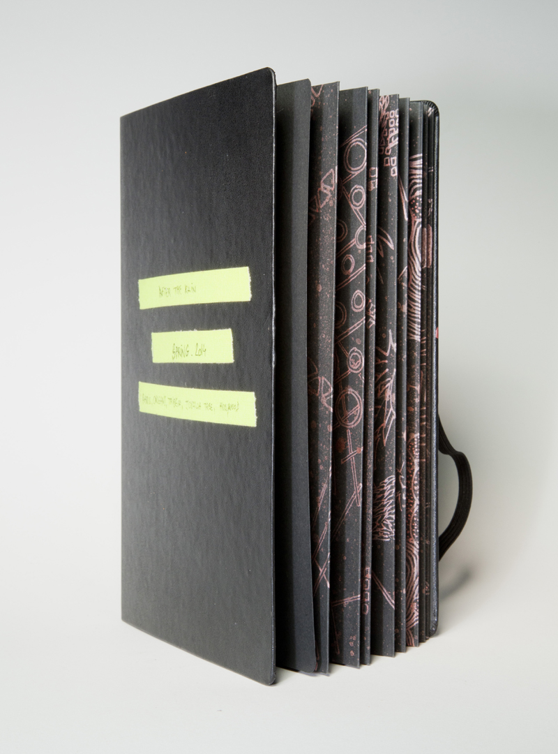 Songlines - Folding Book