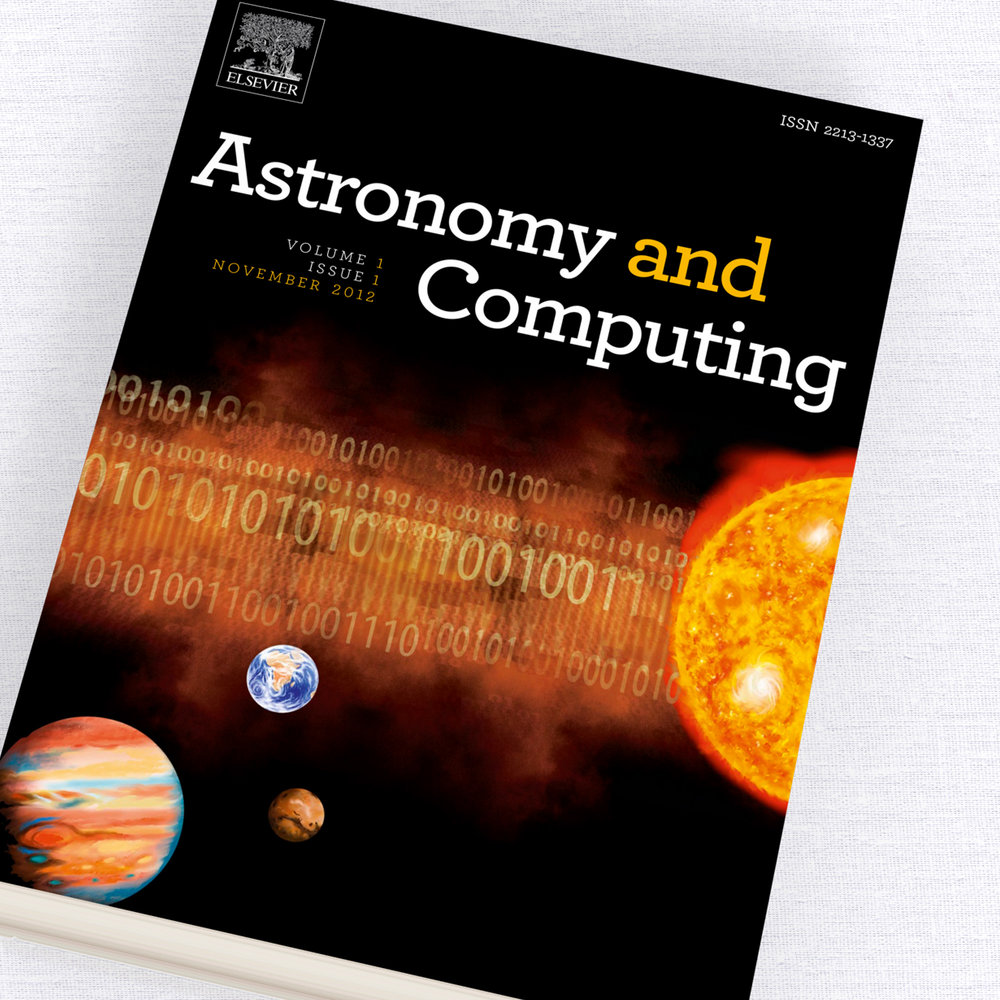 Astronomy and Computing Journal Cover Design