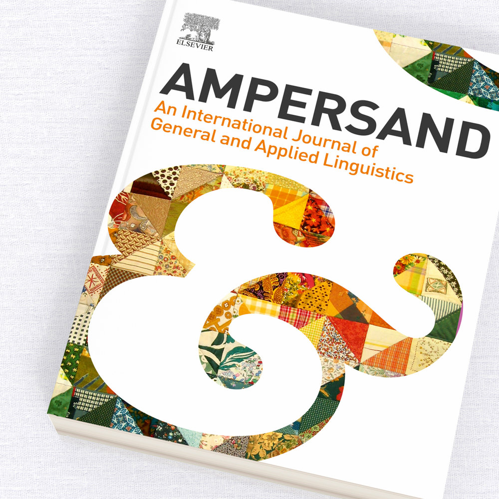 Ampersand Journal Cover Design