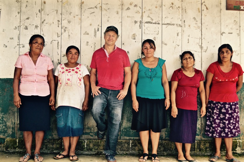 Stephan and Women Smallholders from Nueva Esperanza