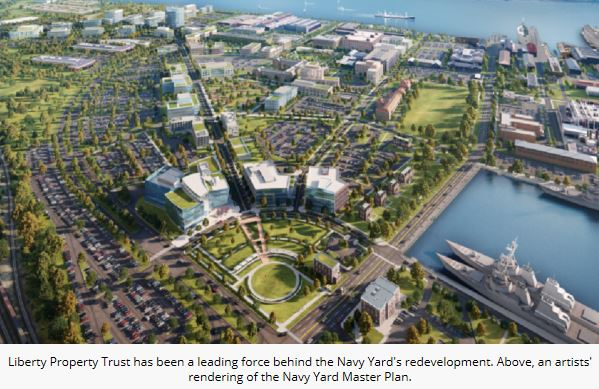 Advanced GeoServices Helps Revitalize the Navy Yard