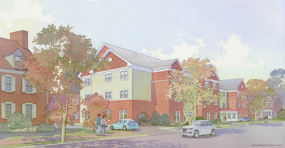 Sharpless Hall Replacement Building