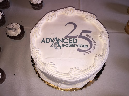 Cake Celebrating AGC 25th Anniversary
