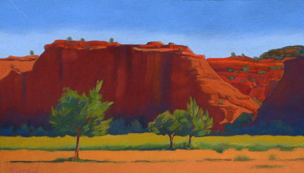 Red Rocks of Jemez No. 6