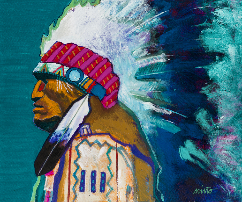Ventana Fine Art Proudly Announces The Annual Indian Market Exhibition And Sale Of New Paintings By John Nieto More Than 80 Works Filled With Dazzling