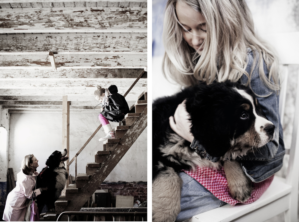 Kotivinkki magazine. Styling: Natalia Rehbinder, make-up: Tintti Alanko.