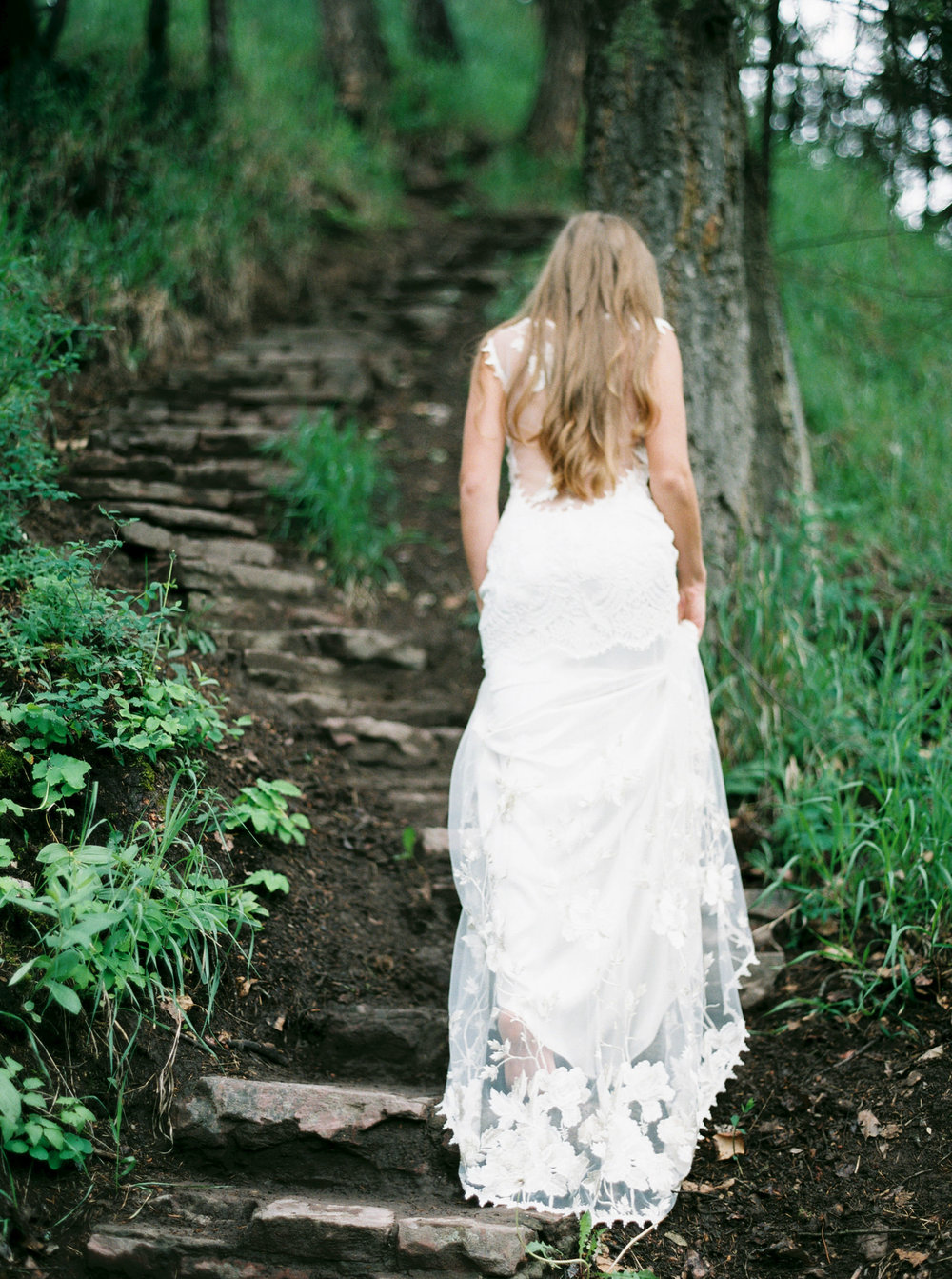 Scotland inspired bridal shoot on film