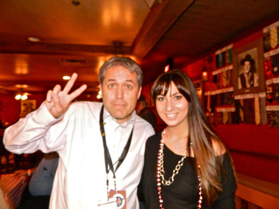 Alyssa with Joe Kerry from Mercury One
