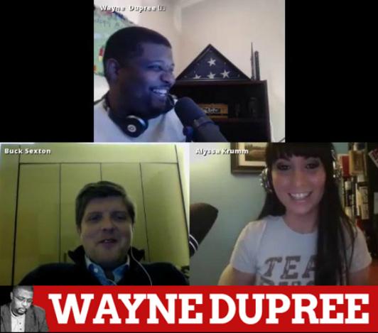 Buck Sexton joined the Wayne Dupree Show