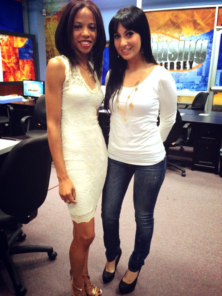 On the set of Chasing New Jersey with Sibiel