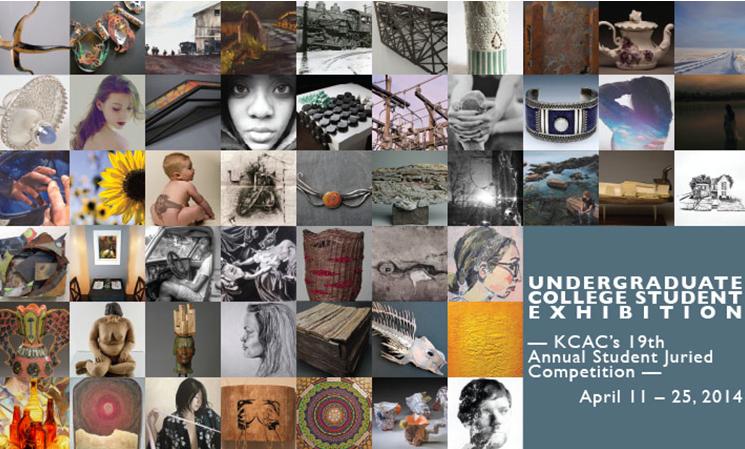 KCAC Undergraduate Exhibition 2014 Postcard