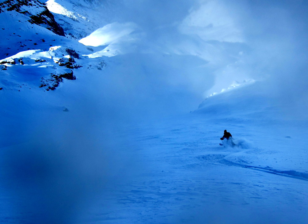 Backcountry blue, Ophir