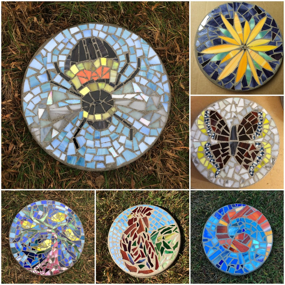 Stepping Stones made by students last fall.