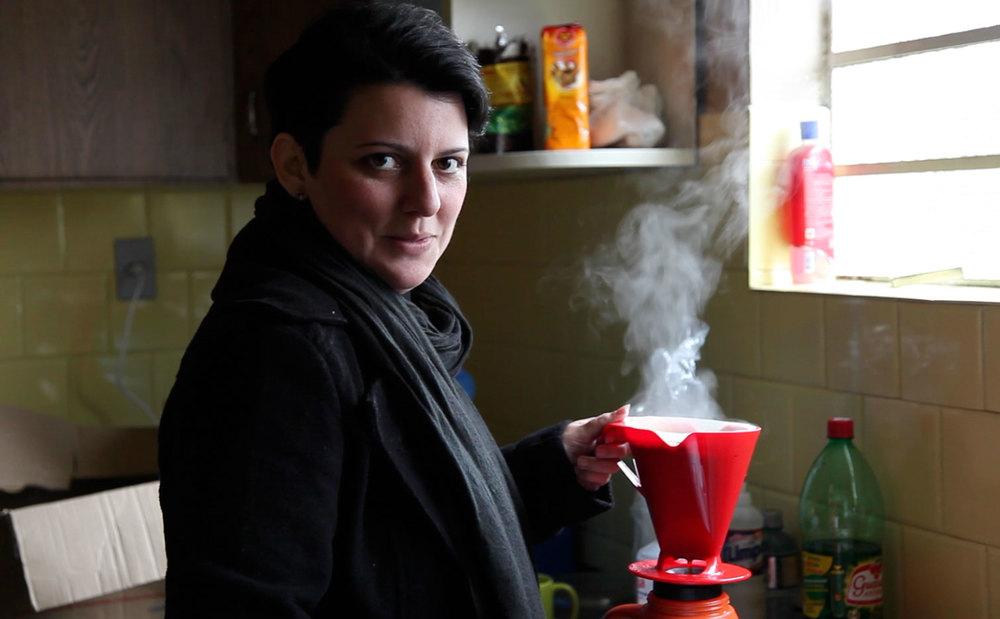 Carol Gesser, produtora executiva, longe das planilhas.