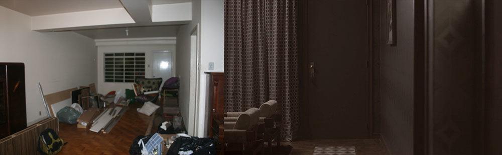 Aqui temos a área da porta com mais detalhes.