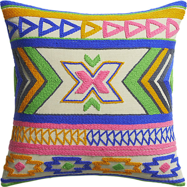 Kilim Embroidery Pillow