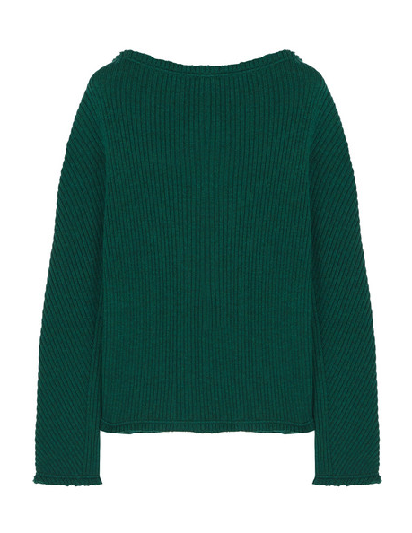Ribbed Wool Sweater/Net-A-Porter