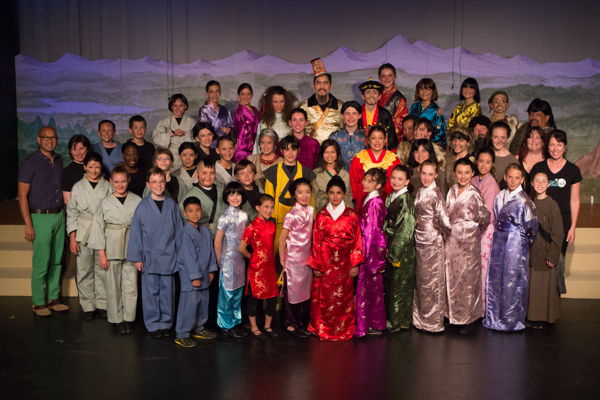 Mulan Jr. cast