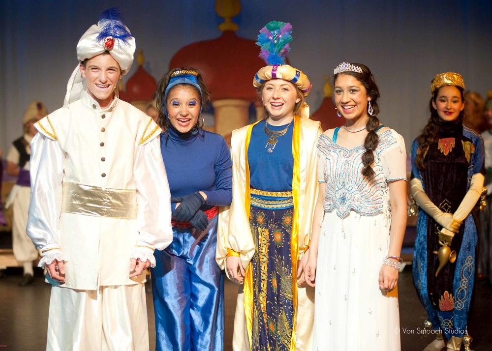 Aladdin Jr - SFC Cast