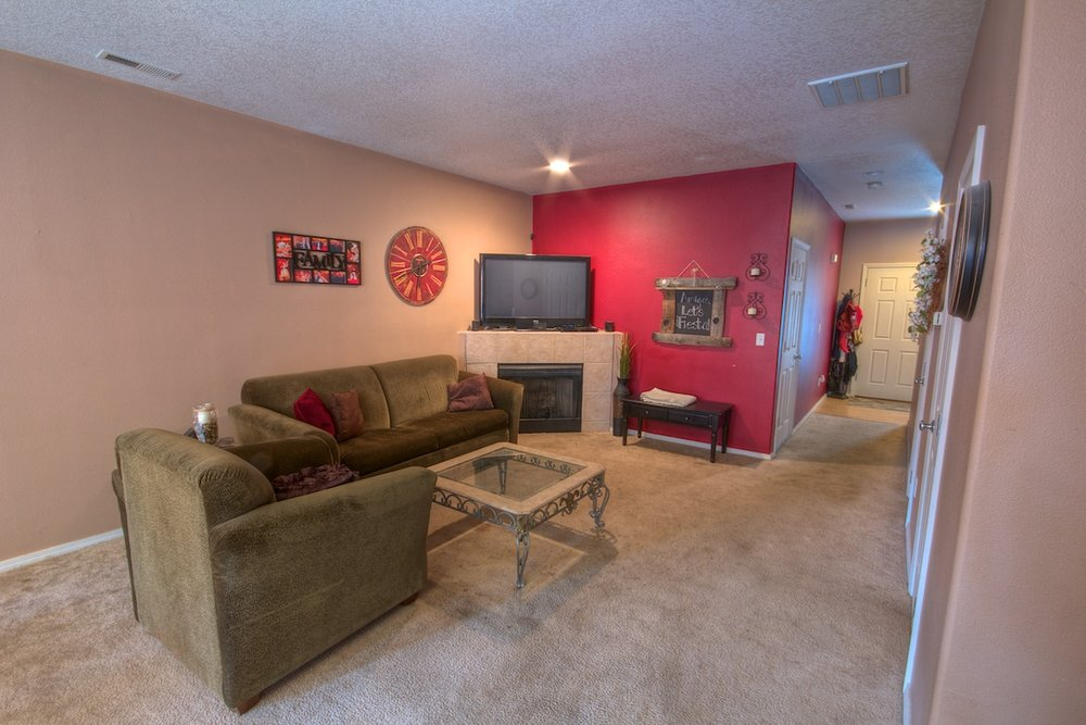 Living room of a house for sale in Gresham, Oregon