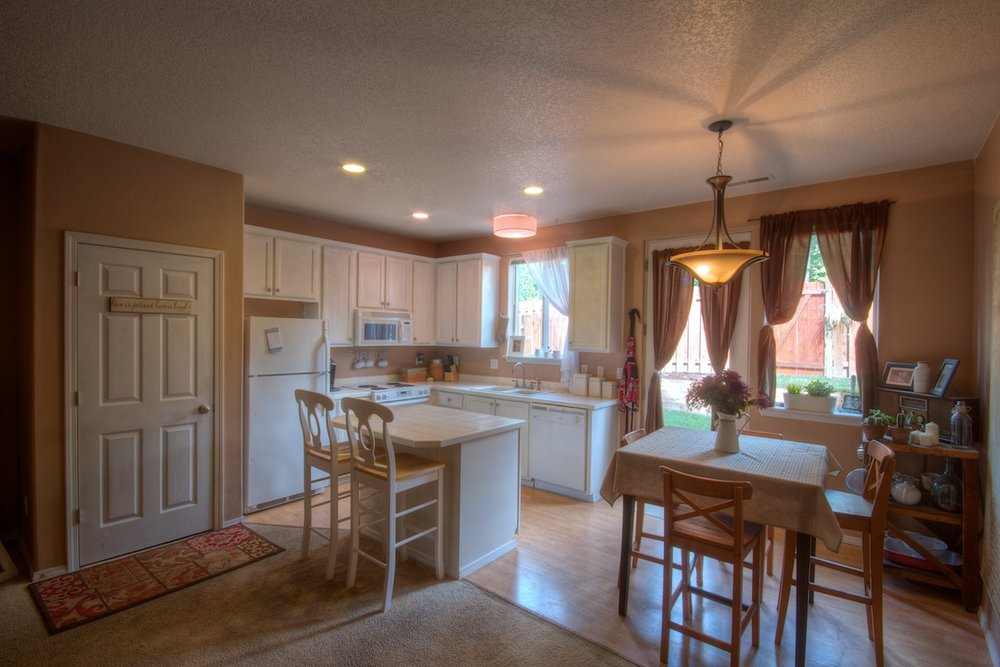 Kitchen view of a house for sale in Gresham, Oregon