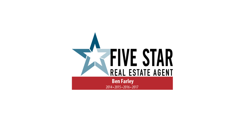 Five Star Real Estate Agent - From 2014-2018