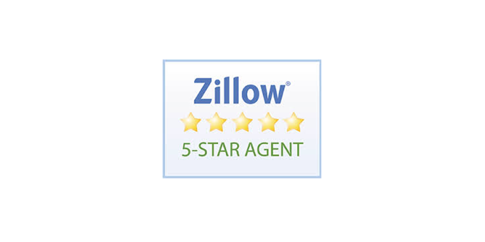 Zillow 5-Star Agent - From 2015-2018