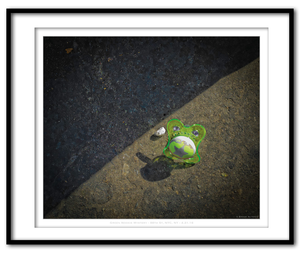 Green Nookie Mystery - 88th St, NYC, NY - 4.21.16 - Framed.jpg