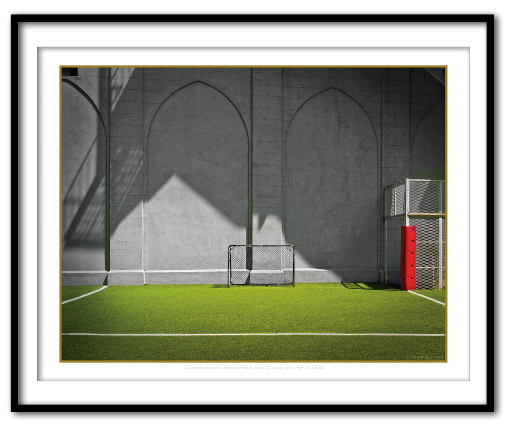 Grammer School Soccer Field, East Village, NYC, NY - 5.12.16 - Framed.jpg