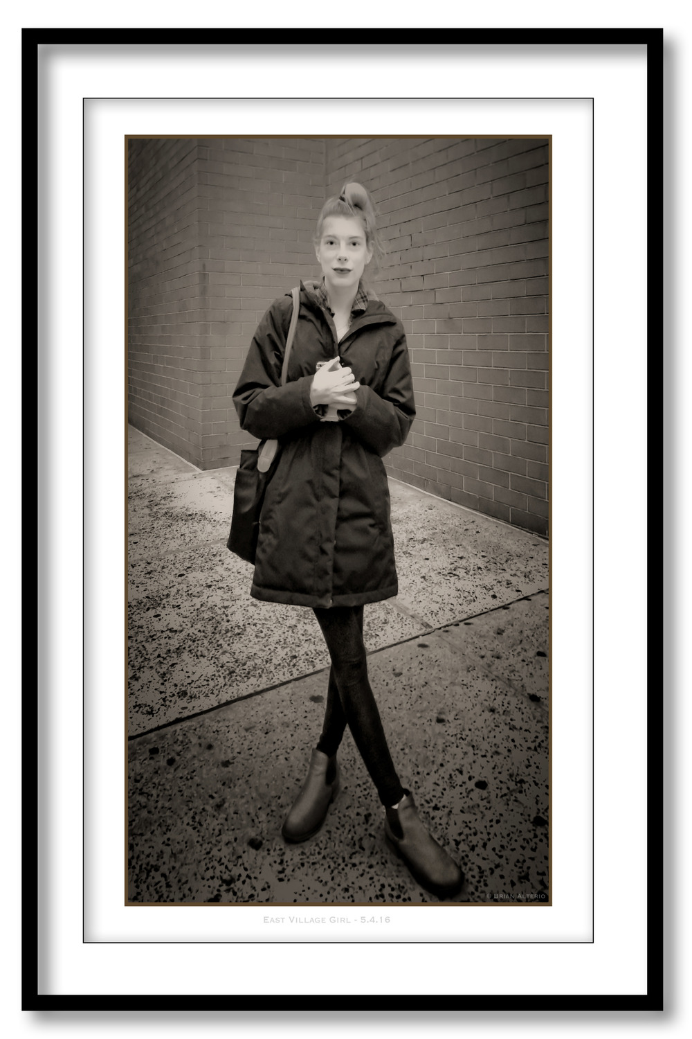 East Village Girl - 5.4.16 - Framed.jpg