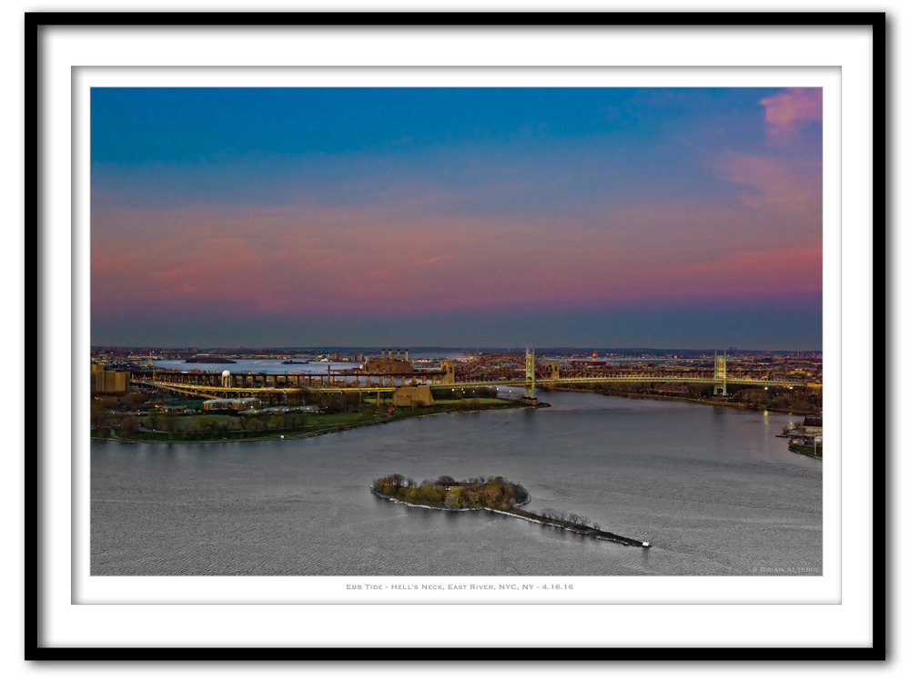 Ebb Tide - Hell's Neck, East River, NYC, NY - 4.16.166 - Framed.jpg