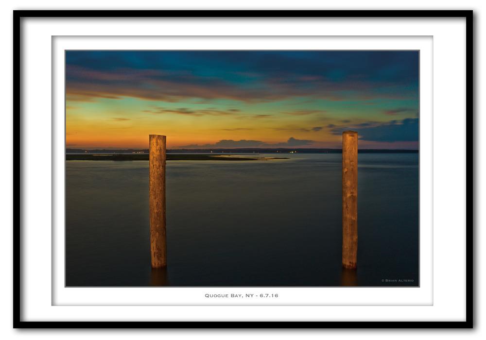 Quogue Bay, NY - 6.7.16 - Framed.jpg