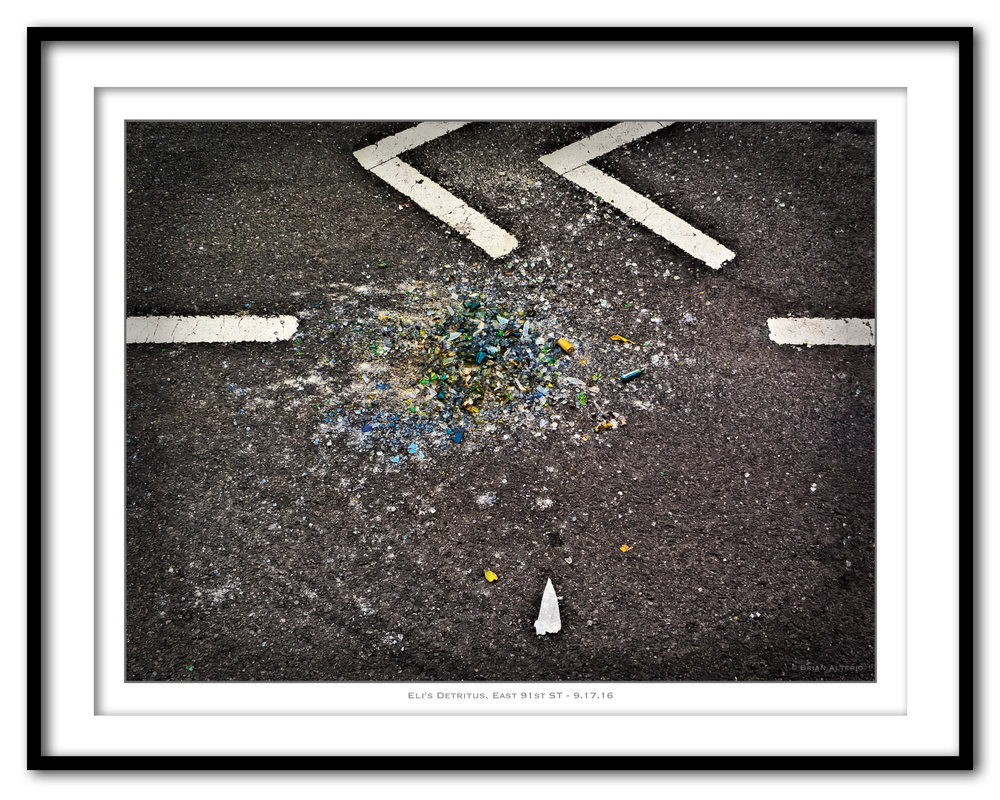 Eli's Detritus, East 91st ST - 9.17.16- Framed.jpg