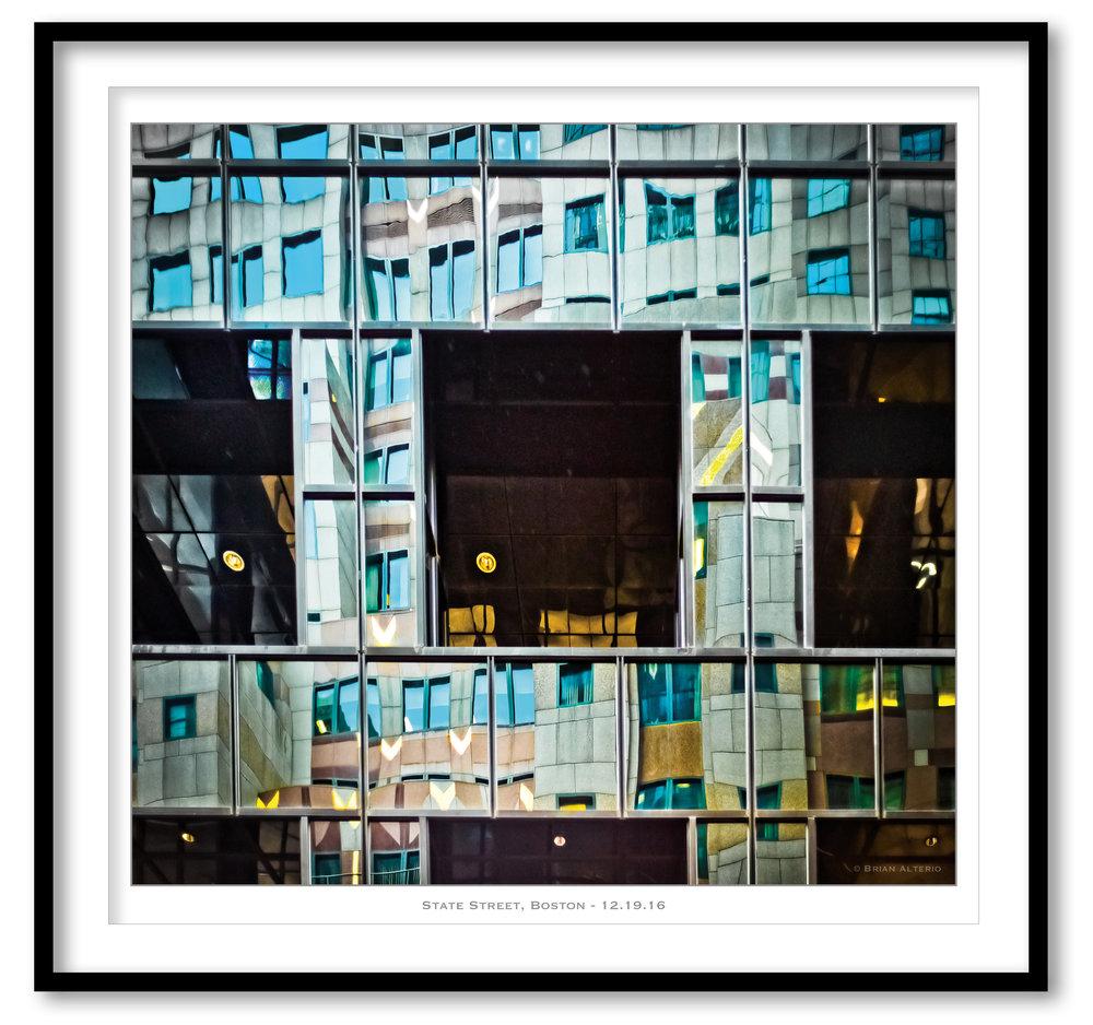 State Street, Boston - 12.19.16  - Framed.jpg