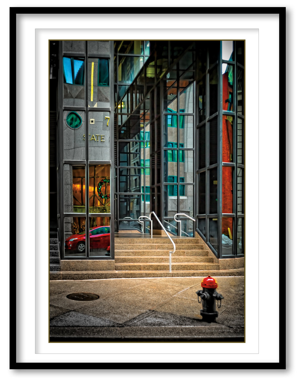 State Street, Boston #3 - 12.19.16- Framed.jpg