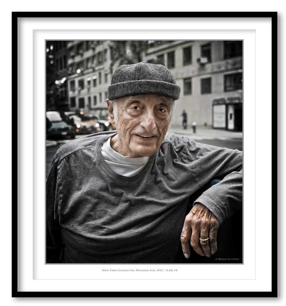 New York Character, Madison Ave, NYC - 9.29.16  - Framed.jpg
