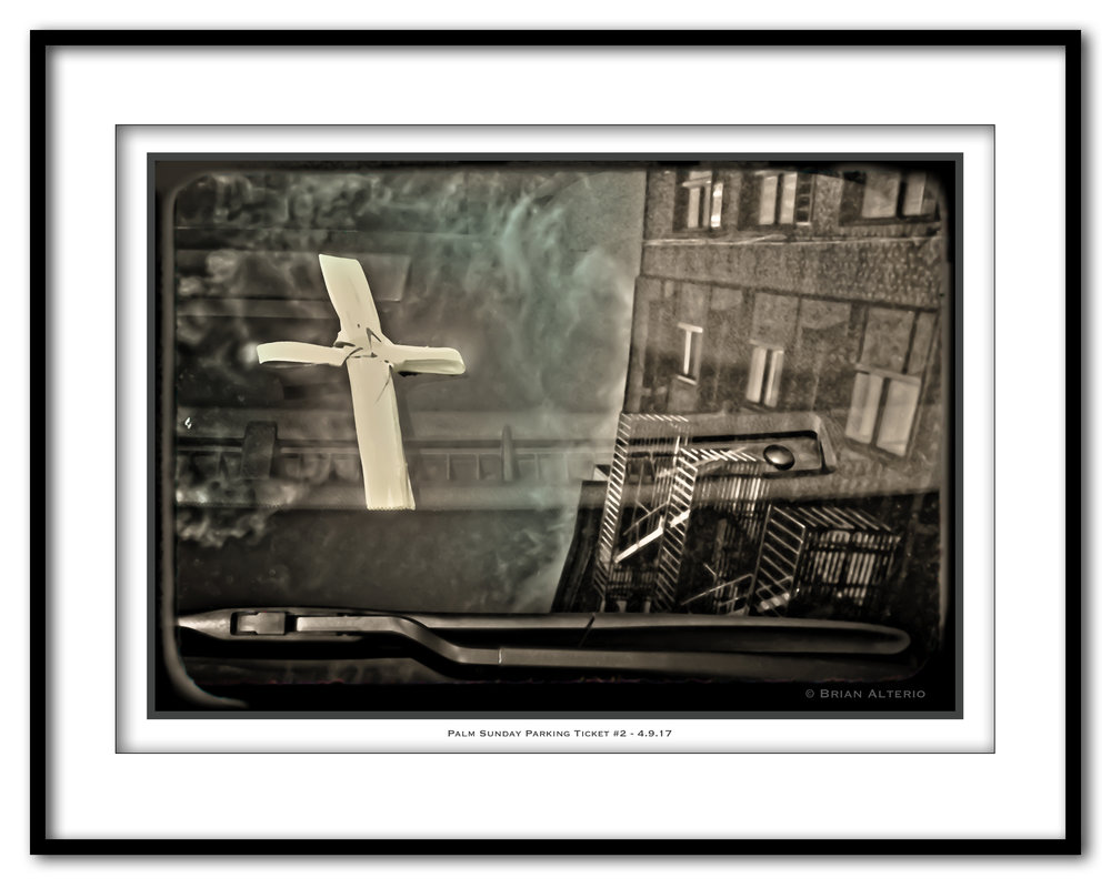 Palm Sunday Parking Ticket #2 - 4.9.17 - Framed.jpg
