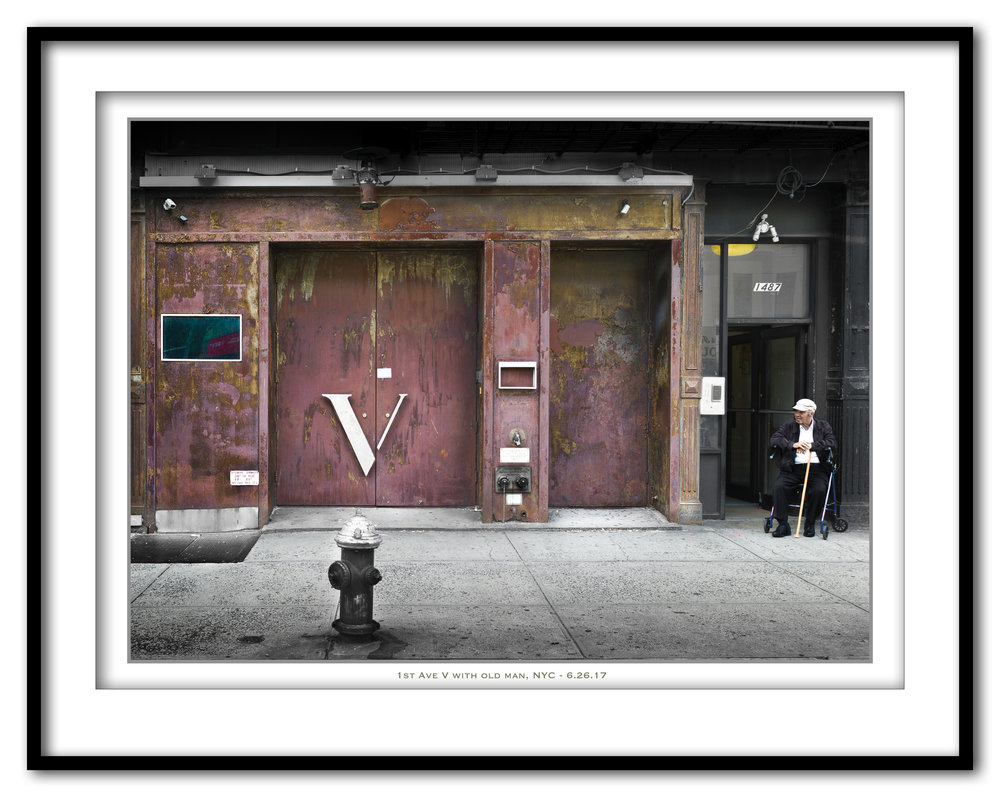 1 St Ave V with old man - 6.26.17- Framed.jpg