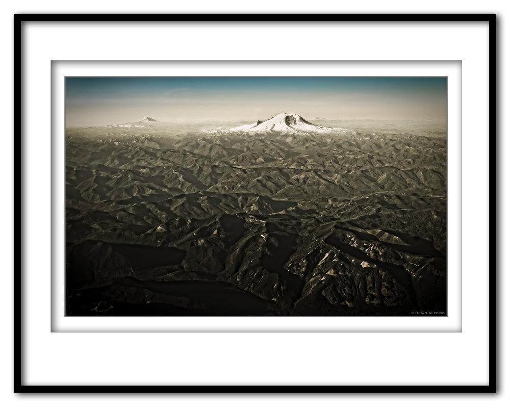 The Cascade Mountian Range - 7.18.17  - Framed.jpg