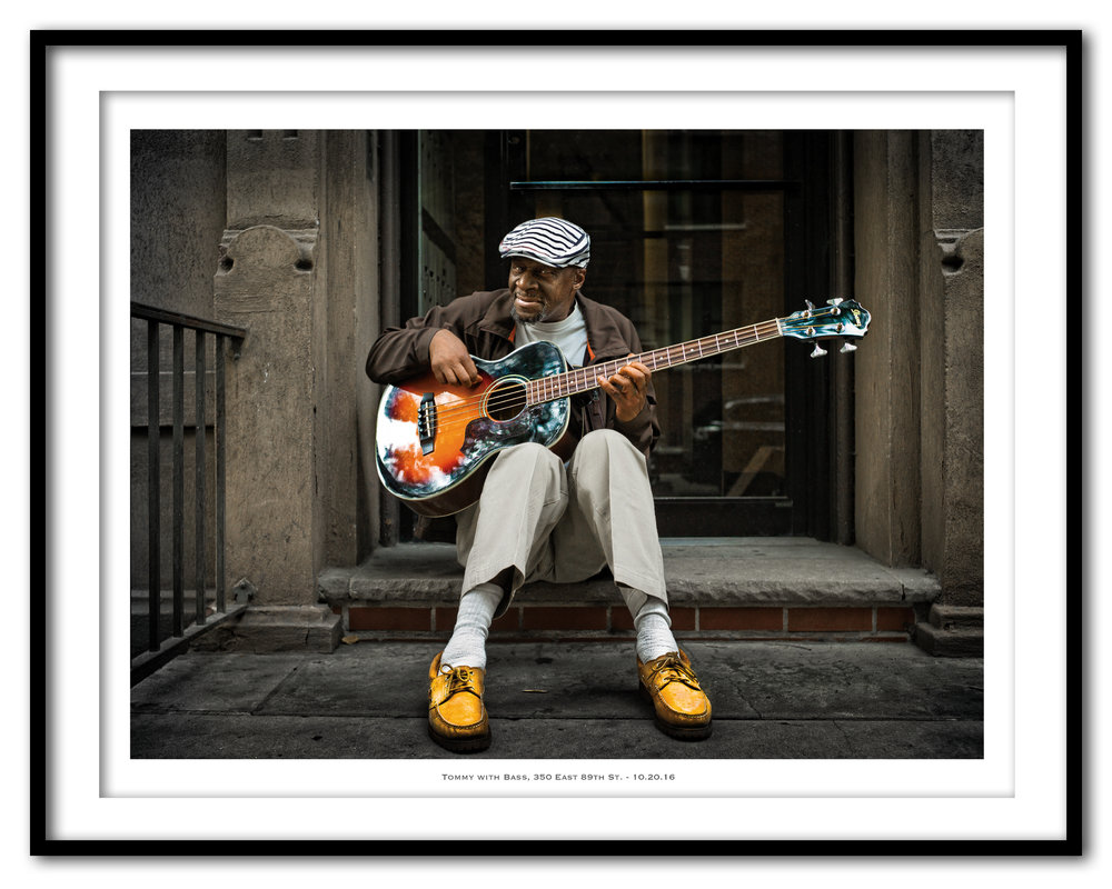 Tommy with Bass, 350 East 89th St. - 10.20.16 - Framed.jpg