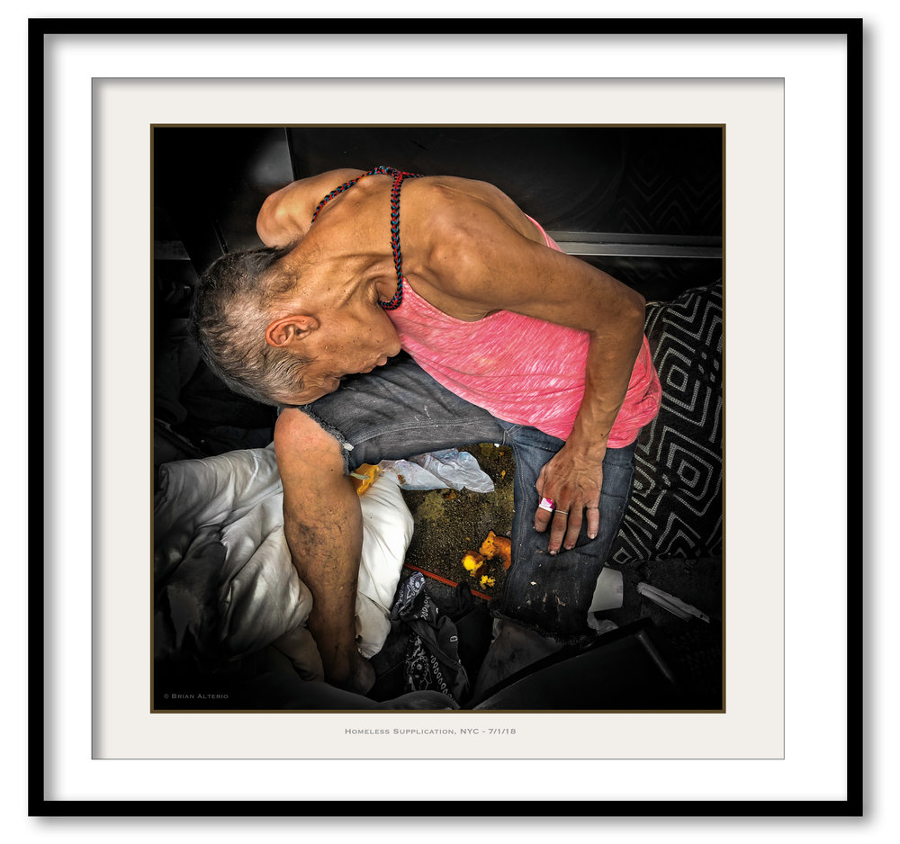 Homeless Supplication, NYC - 7-1-18 - Framed.jpg