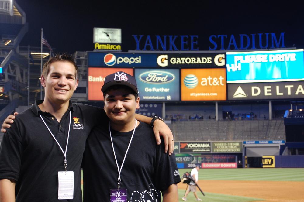 Joey Sorreno (Bounce #3) at Yankees Stadium