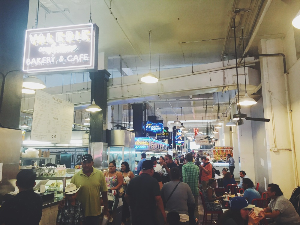 Another LA trip. The Grand Central Market was the coolest food experience. go go go