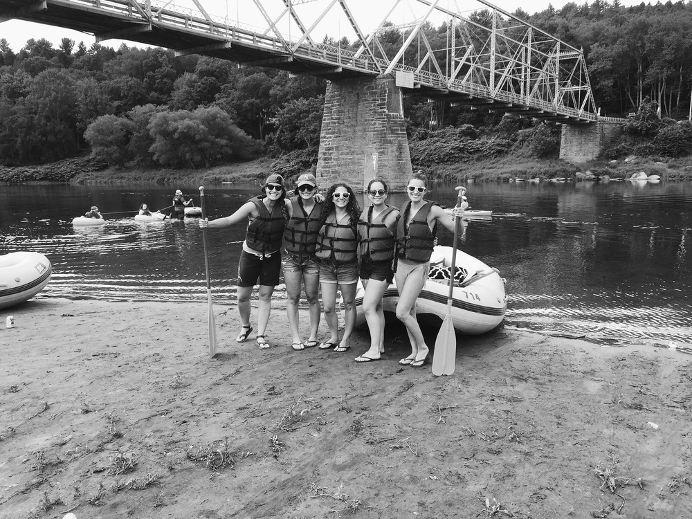 I went to Narrowsburg NY for a weekend with some friends celebrating my good friend getting married. We went rafting.